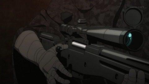 L115を持つデスガンの手