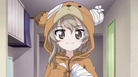 ボコパジャマを着る島田愛里寿
