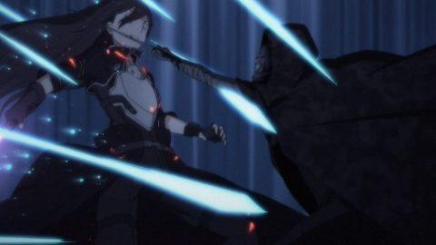 剣で連撃するデスガン