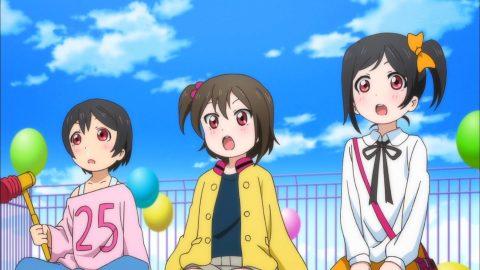 姉のライブを見ている矢澤にこの妹弟たち