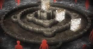 進撃の巨人で登場する3つの壁