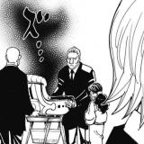 王位継承選で不気味な影が描写されるシーン