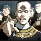 指をさすニック司祭