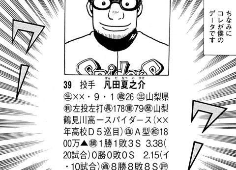 凡田の7年目の成績