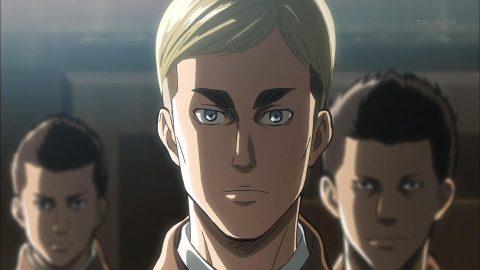 エルヴィンの真顔