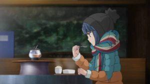 ボルシチを食べるリンちゃん