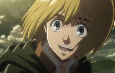 ほほ笑むアルミン