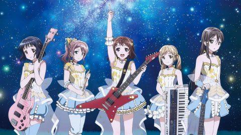 STAR BEAT衣装を着たPoppin Party