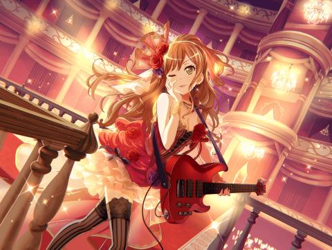 ベースを演奏する今井リサ