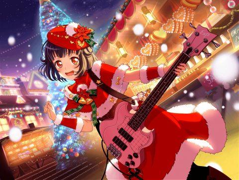 クリスマス衣装の牛込りみ
