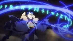 魔術を出すランサー