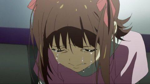 涙を流す天海春香