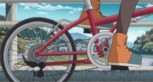 自転車で走るなでしこ