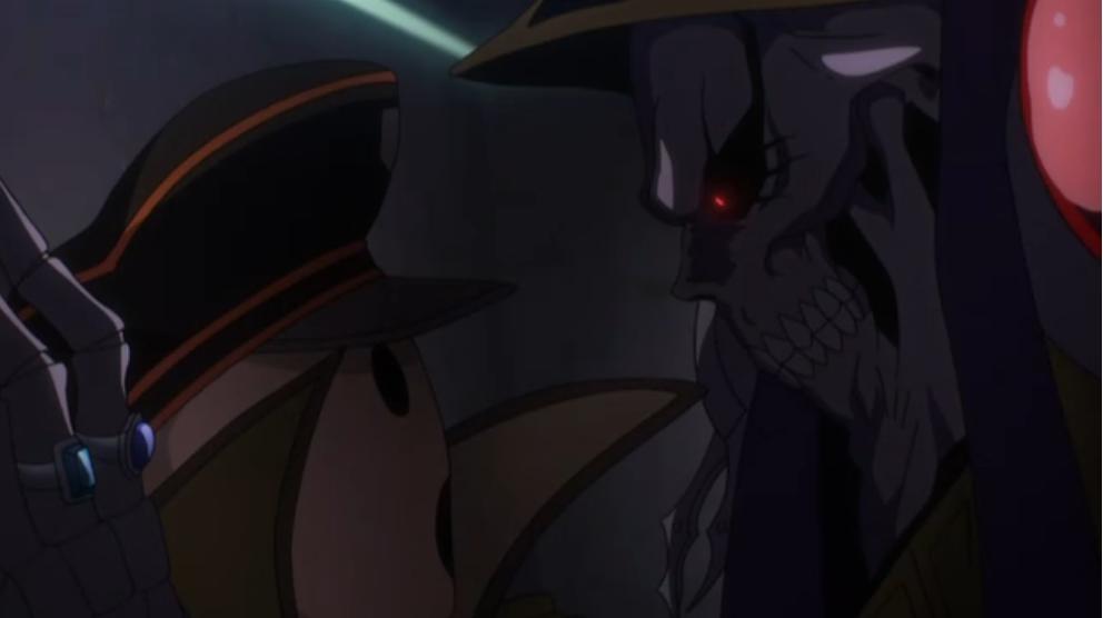 モモンガがパンドラズアクターに説教