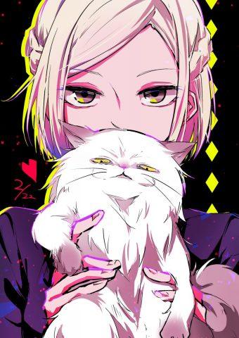 アキラと猫
