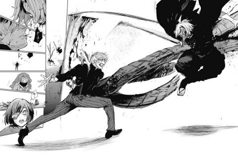 ハイセと戦っているオウル