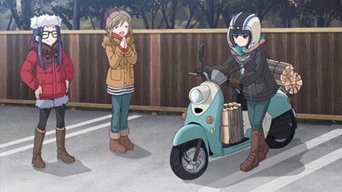 スクーターに乗れるリンちゃん