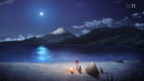 富士山がきれいなキャンプ場