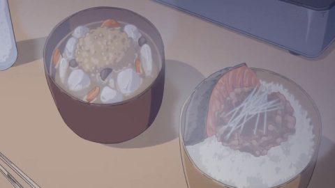 みそ汁と焼き鮭