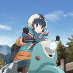 バイクで走るリン
