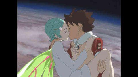 キスをするエウレカとレントン