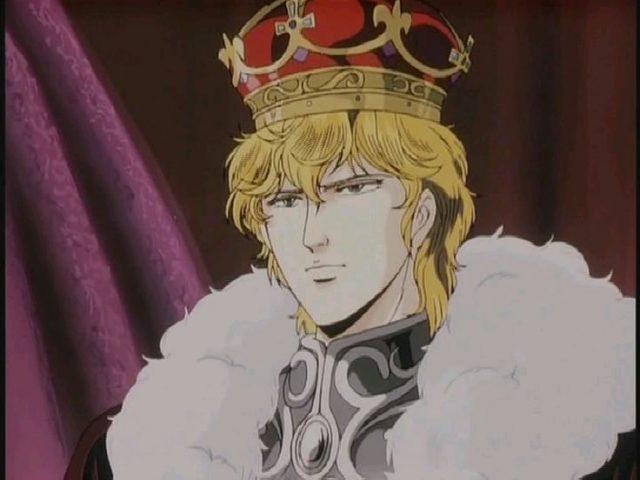 新皇帝となったラインハルト