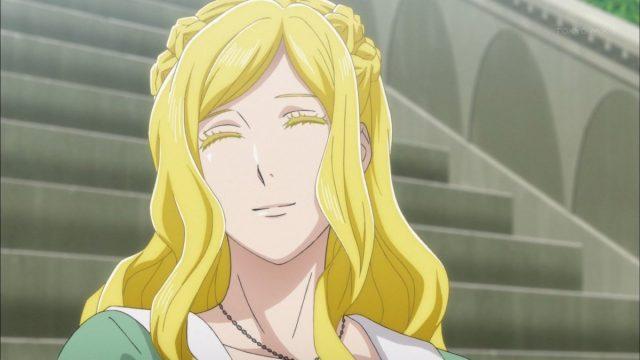 微笑むアンネローゼ