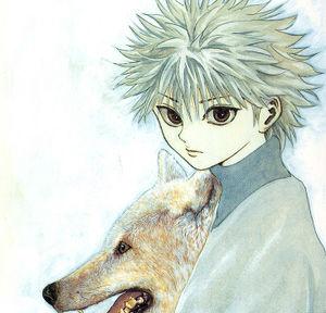 オオカミといるキルア