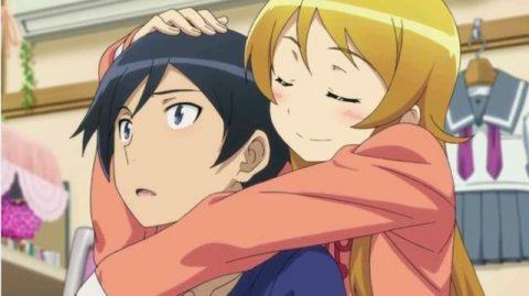 桐野に抱きしめられる京介