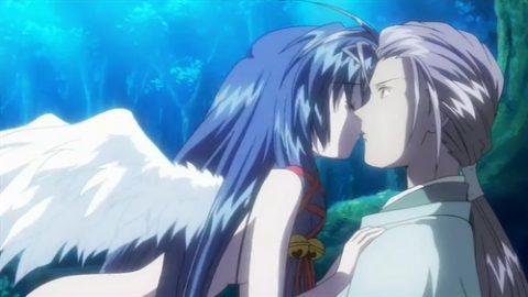 柳也にキスする神奈