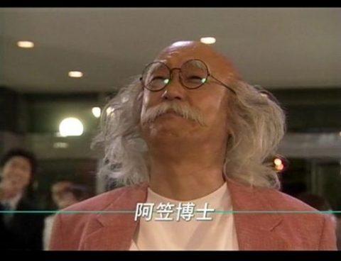 阿笠博士を演じる田山さん