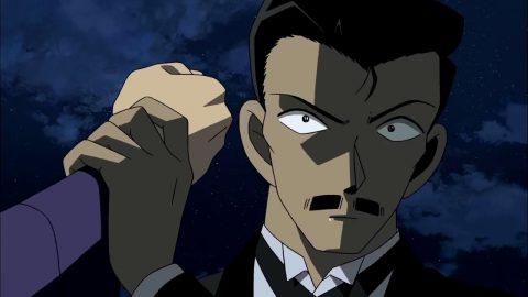 相手の攻撃を受け止める小五郎