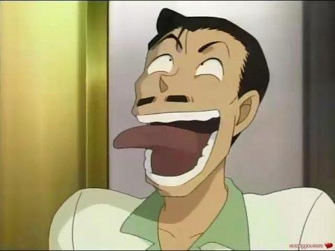 下品な笑い方をする小五郎