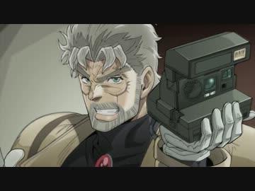 ポラロイドカメラをもつジョセフ