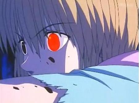 赤目のクラピカ