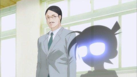 とある笑み探偵のシルエットと先生