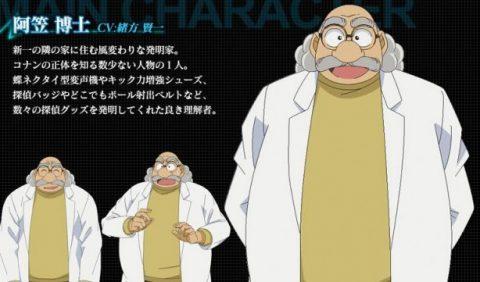 最有力とされていた阿笠博士