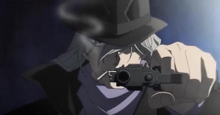 銃をかまえるジン