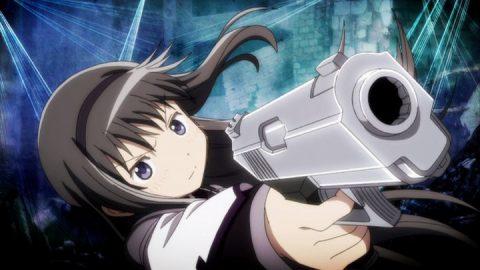 銃を構えるほむら