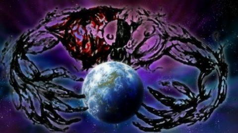 地球を飲み込む絶望の魔女