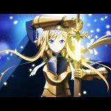 金木犀の剣を抜くアリス