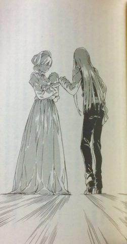 子供を触るアレイスター