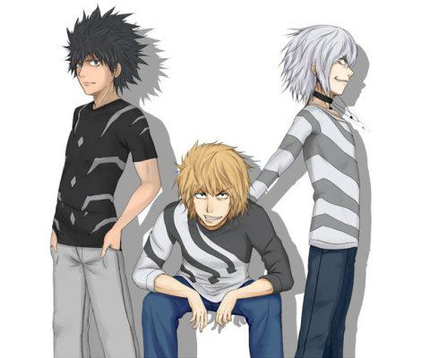 3人の主人公