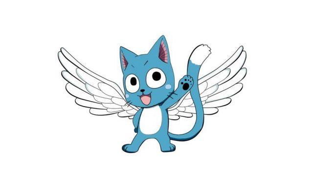 空飛ぶ青い猫のハッピー