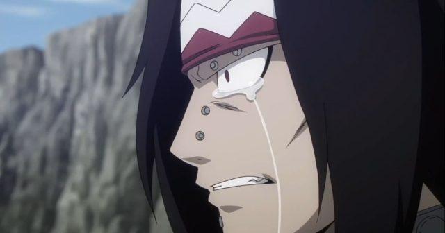 涙を流すガジル