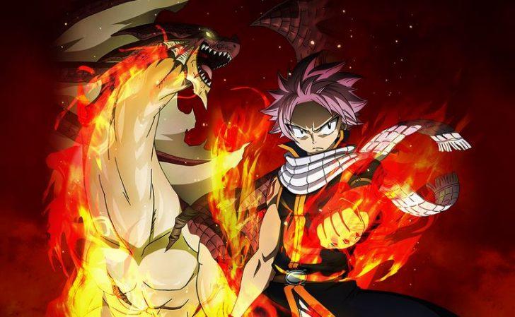 火の滅竜魔導士として活躍するナツ