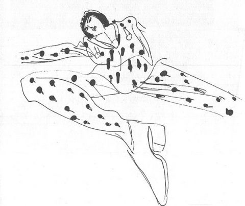 ナランチャの挿絵