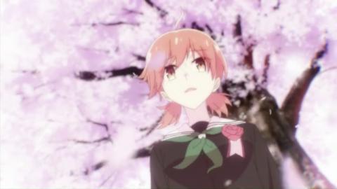 桜の木の下の小糸侑
