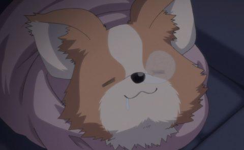 眠りこけるちくわ