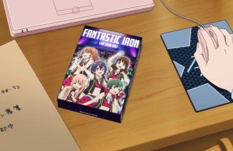 DVDの表紙にいる愛